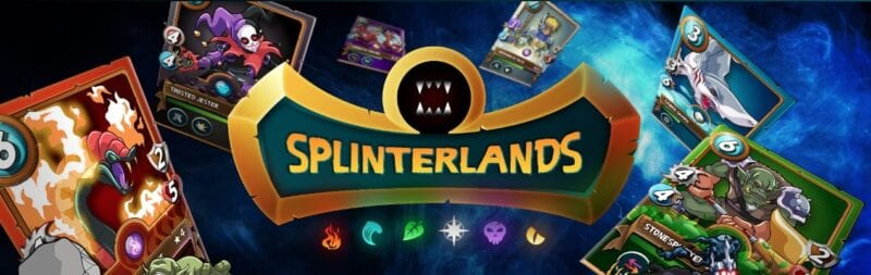 Splinterlands blockchain game 2020