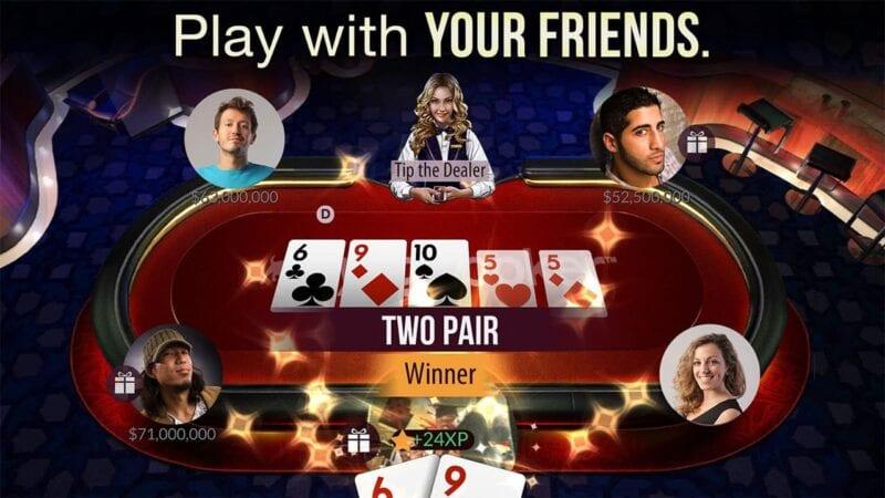 Zynga Poker 1 Best Multiplayer Poker Game